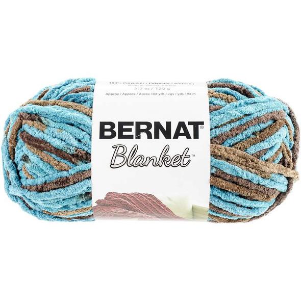 Blanket Yarn Mallard Wood
