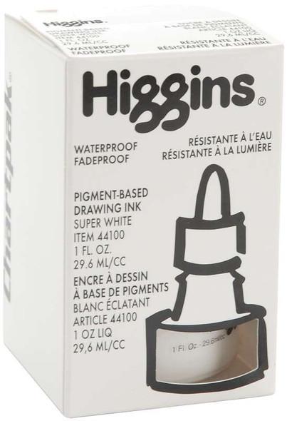 Higgins Ink 1oz Super White