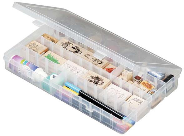 "ArtBin Solutions Box 4-48 Compartments 14.125""X9""X2"" Translucent"