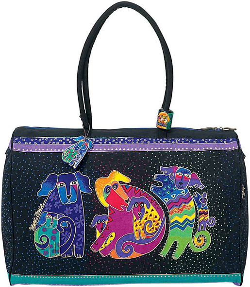 """Artistic Totes Travel Bag 21""""X9""""X16"""" Dogs & Doggies"""