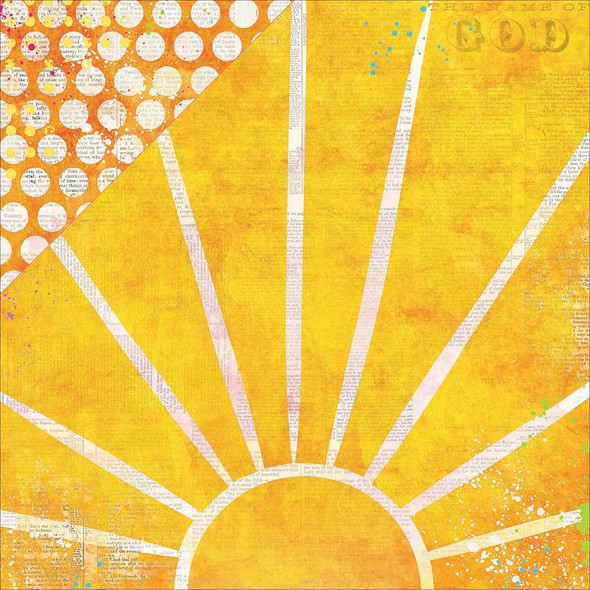 """Believe Double-Sided Cardstock 12""""X12"""" Radiance"""