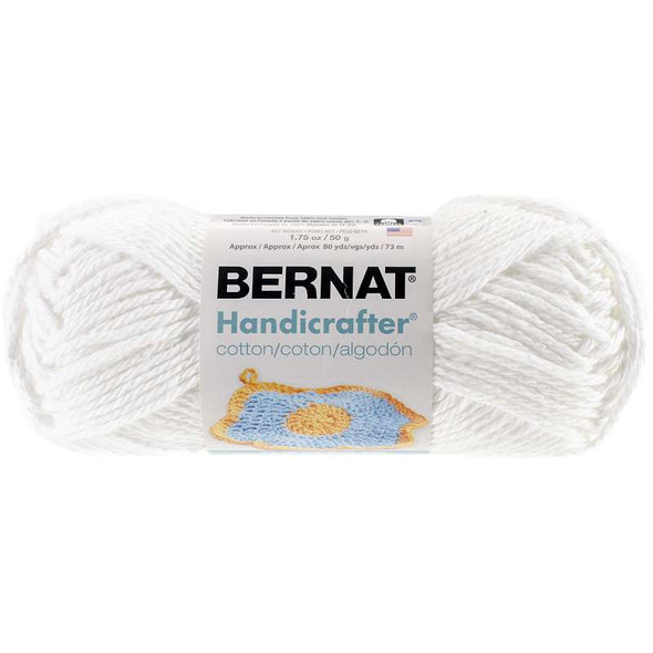 Handicrafter Cotton Yarn - Solids White