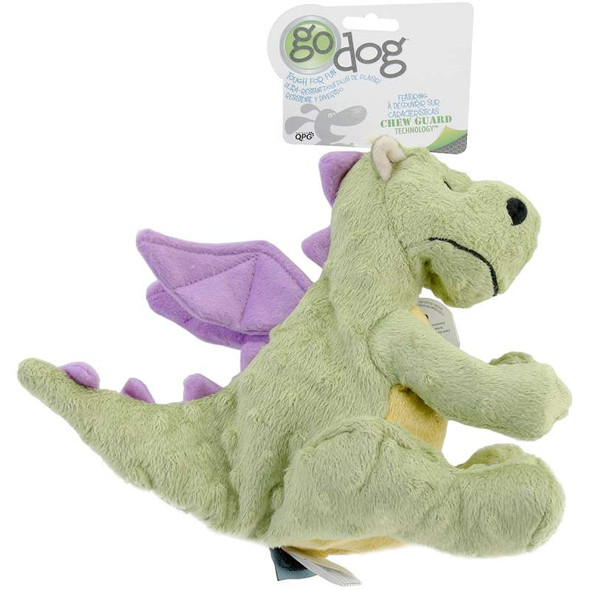 goDog Dragons with Chew Guard Large Lime
