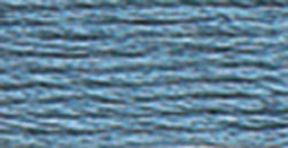 DMC Pearl Cotton Skein Size 3 16.4yd Medium Antique Blue