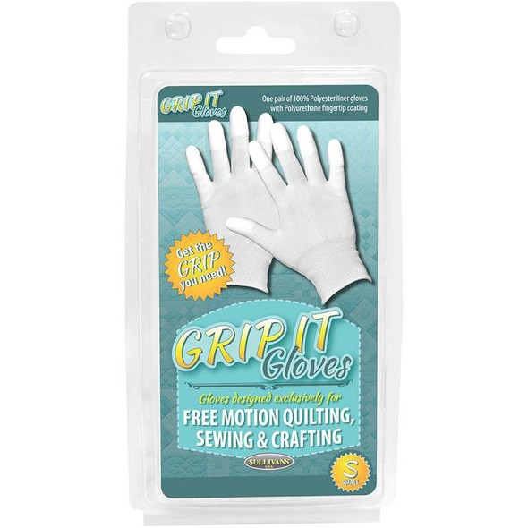 Grip Gloves For Free Motion Quilting Small