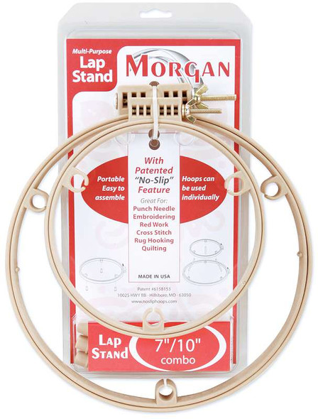 """Lap Stand Combo 7"""" & 10"""" Hoops"""
