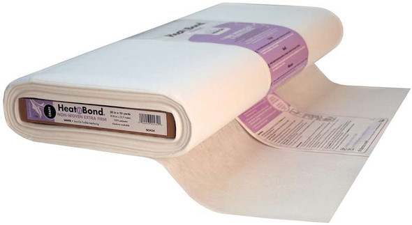 """Heat'n Bond Non-Woven Craft Extra Firm Fusible White 20""""X25yd FOB: MI"""