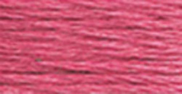DMC Pearl Cotton Skein Size 5 27.3yd Dark Dusty Rose