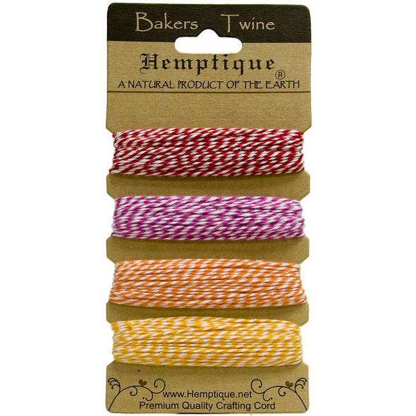 Cotton Baker's Twine 2-Ply 120' Candy Lane