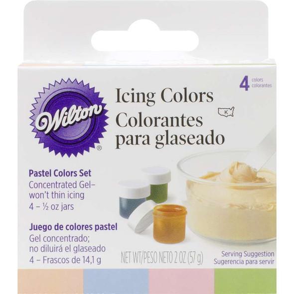 Icing Colors .5oz 4/Pkg Pastel