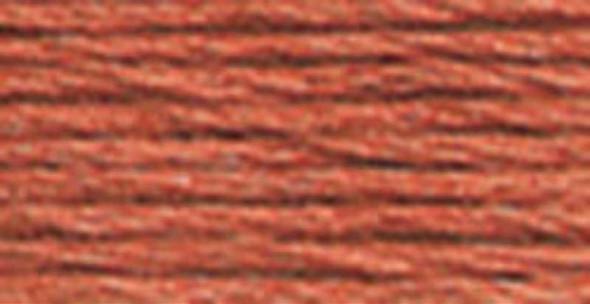 DMC Pearl Cotton Skein Size 3 16.4yd Medium Terra Cotta