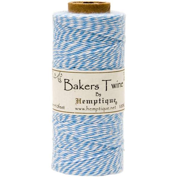 Cotton Baker's Twine Spool 2-Ply 410' Light Blue