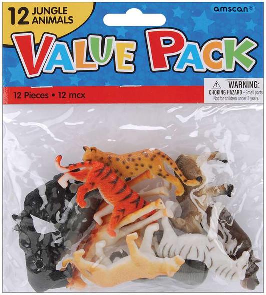 Party Favors 12/Pkg Jungle Animals