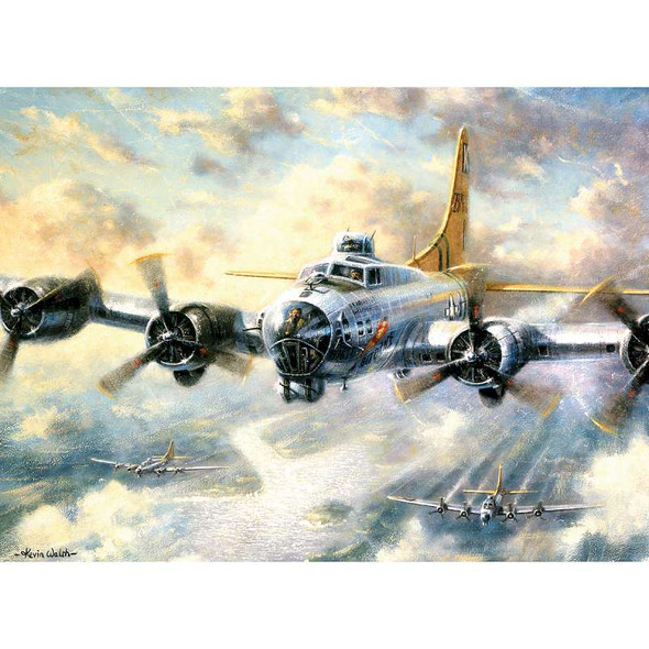 """Paint By Number Kit 15.375""""X11.25"""" Flying Fortress"""