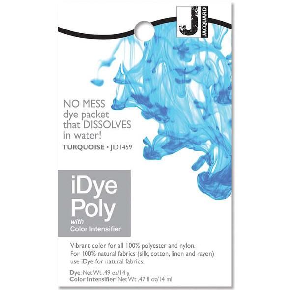 Jacquard iPoly Fabric Dye 14g Turquoise