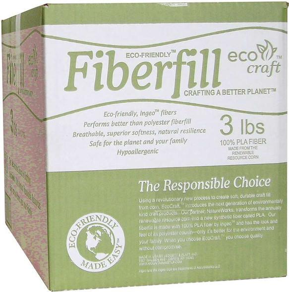 Eco-Friendly Fiberfill  3lb FOB: MI