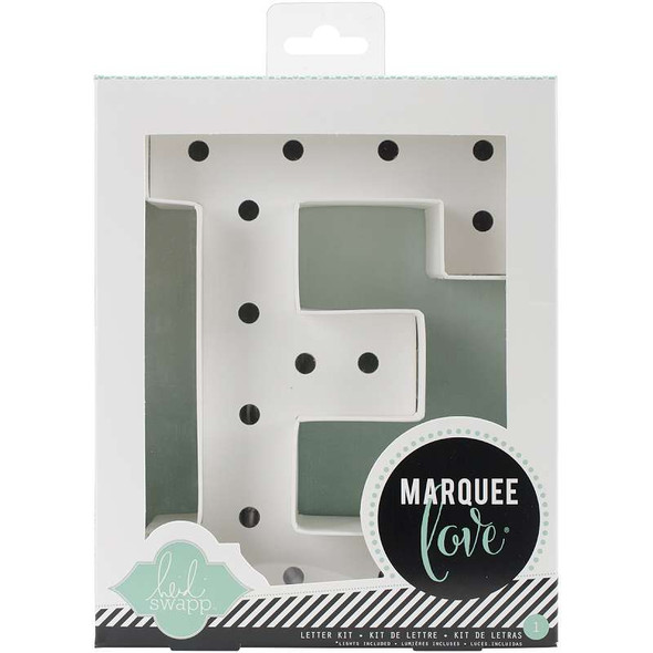 """Heidi Swapp Marquee Love Letters, Numbers & Shapes 8.5"""" E"""
