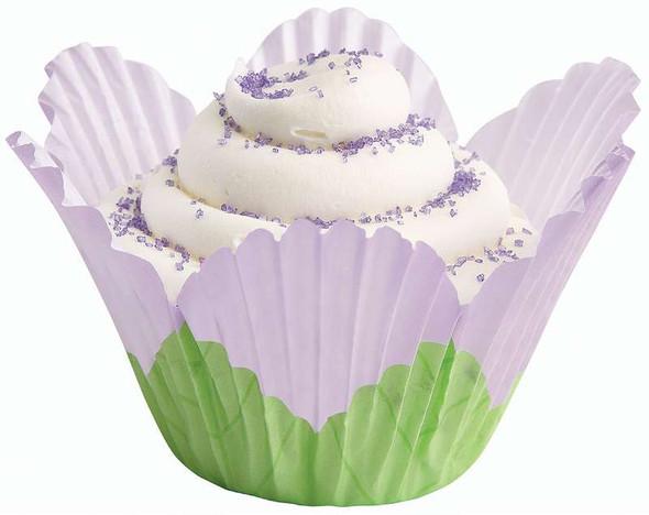 Fancy Standard Baking Cups Petal Lavender 24/Pkg