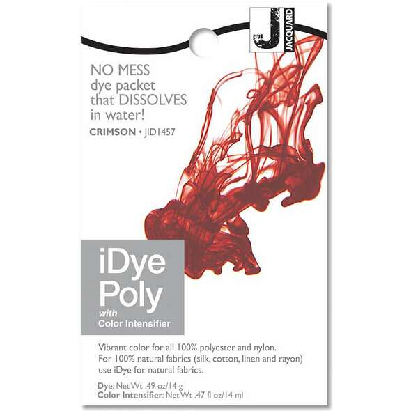 Jacquard iPoly Fabric Dye 14g Crimson