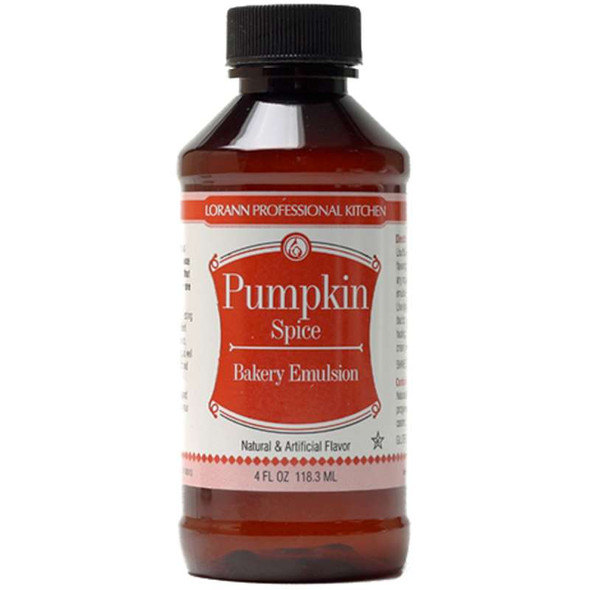 Bakery Emulsions Natural & Artificial Flavor 4oz Pumpkin