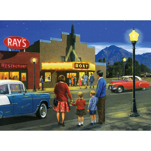 """Paint By Number Kit 15.375""""X11.25"""" A Night At The Movies"""