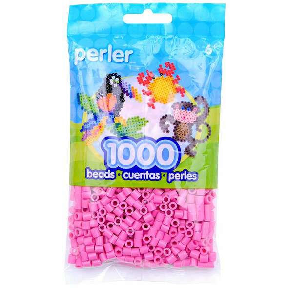 Perler Beads 1,000/Pkg Bubble Gum