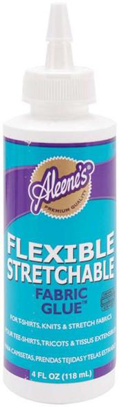 Aleene's Flexible Stretchable Fabric Glue 4oz