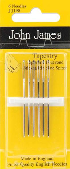 Gold Tapestry Hand Needles Size 26 3/Pkg