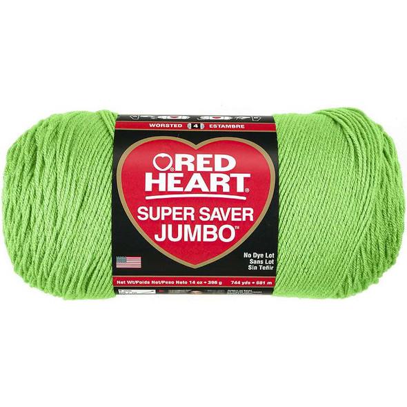 Red Heart Super Saver Yarn Spring Green