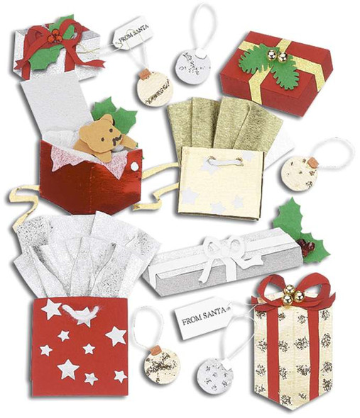 Jolee's Boutique Dimensional Stickers Christmas Gifts