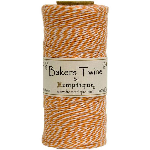 Cotton Baker's Twine Spool 2-Ply 410' Orange