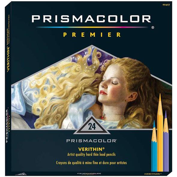 Prismacolor Premier Colored Pencils 24/Pkg Verithin