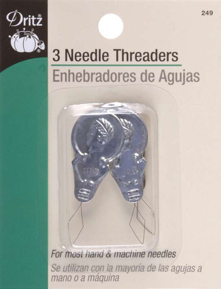 Metal Needle Threaders 3/Pkg