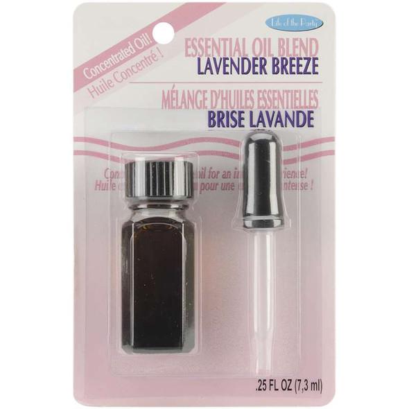Essential Oil Blend .25oz Lavender Breeze