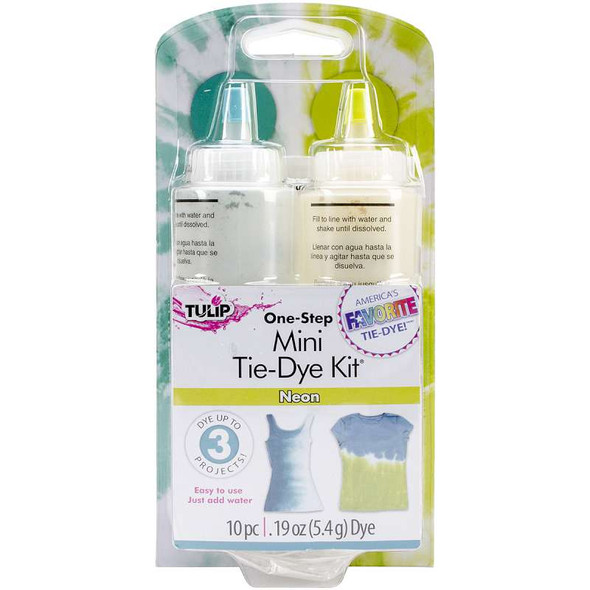 Tulip One-Step Mini Tie-Dye Kit Neon