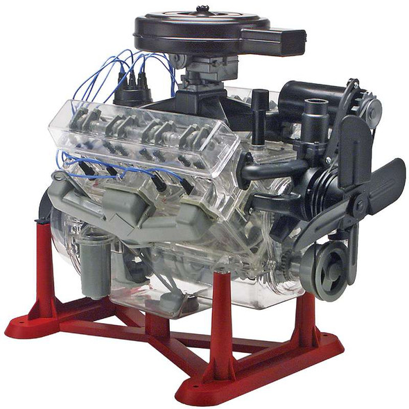 Plastic Model Kit Visible V-8 Engine 1:25