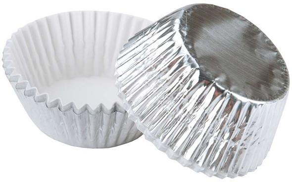 Standard Baking Cups Silver Foil 24/Pkg