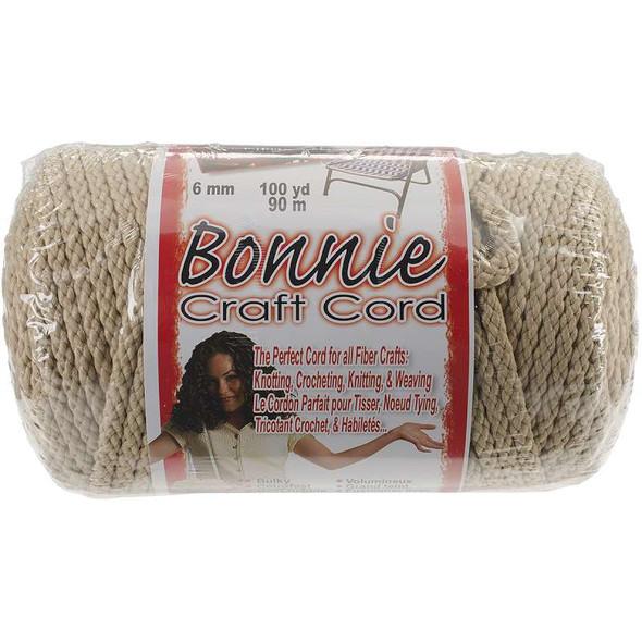Bonnie Macrame Craft Cord 6mmX100yd Jute
