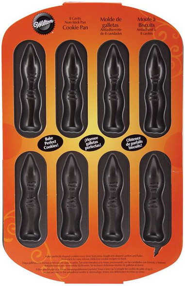 Non-Stick Cookie Pan Fingers 8 Cavity