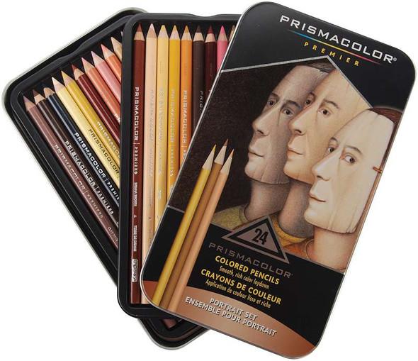 Prismacolor Premier Colored Pencils 24/Pkg Portrait