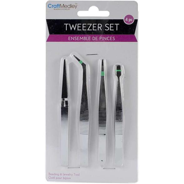 """Tweezers 4/Pkg 4.75"""""""