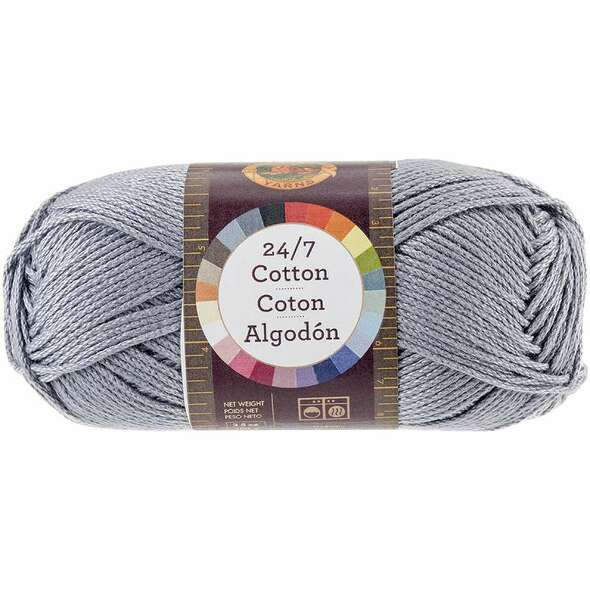 24/7 Cotton Yarn Silver