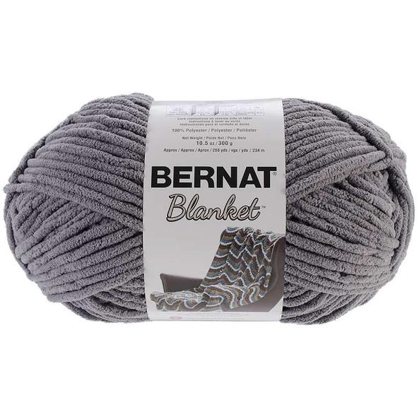 Bernat Blanket Big Ball Yarn Dark Grey