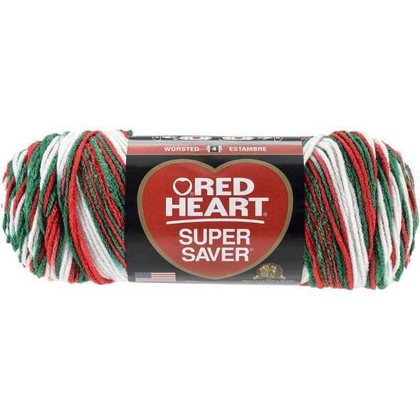 Red Heart Super Saver Yarn Mistletoe