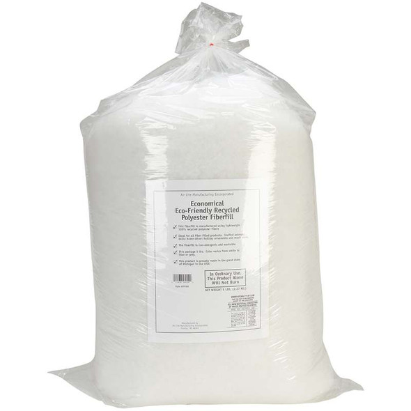 Eco-Friendly Recycled Polyester Fiberfill 5lb FOB: MI