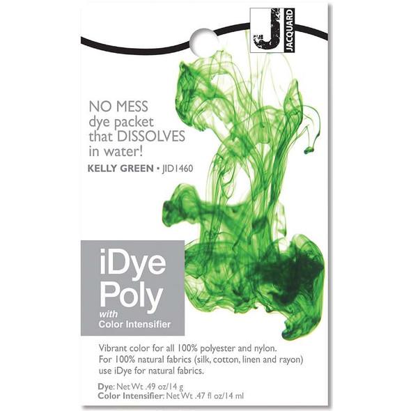 Jacquard iPoly Fabric Dye 14g Kelly Green