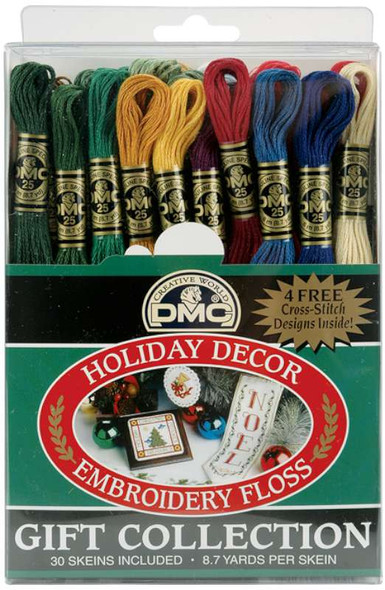 DMC Embroidery Floss Pack 8.7yd Holiday Decor 30/Pkg