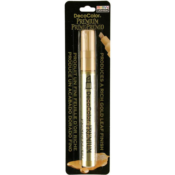 DecoColor Premium Chisel Paint Marker Gold