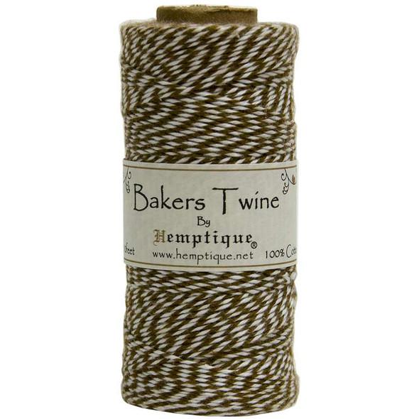 Cotton Baker's Twine Spool 2-Ply 410' Light Brown