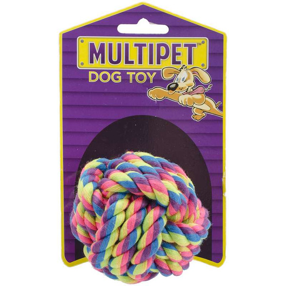 """Multipet Nuts For Knots Dog Toy 2.5"""""""